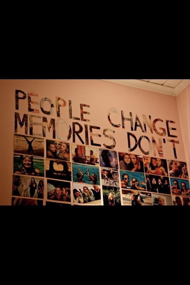 People Change Memories Dont Drake