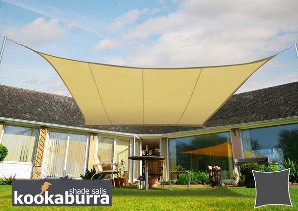 toldo vela kookaburra arena cuadrado 36m resistente al agua uso ocasional