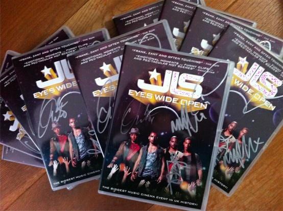 Signed DVDs