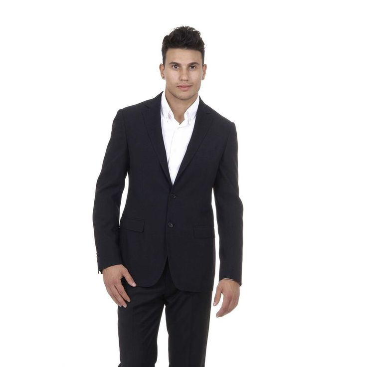 Salvatore Ferragamo Men's Wool Blazer Jacket DARK BLUE #SalvatoreFerragamo #Blazer
