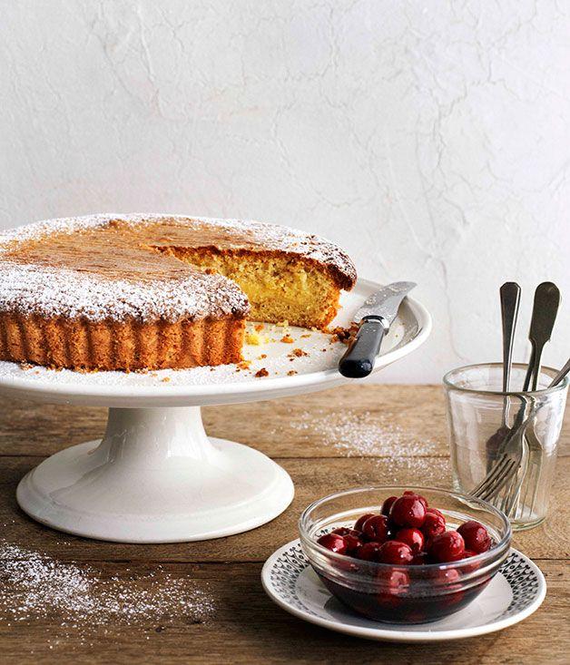 Australian Gourmet Traveller recipe for Gâteau Basque