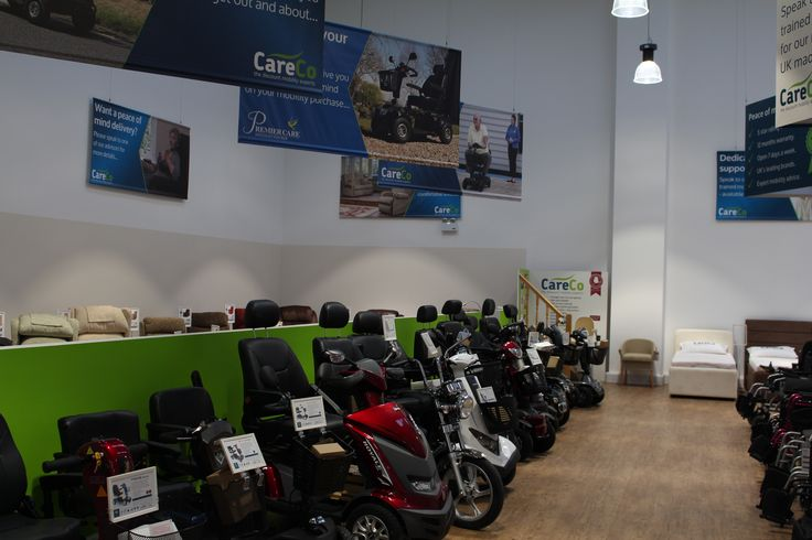 We have an excellent range of mobility scooters  at our Hayes showroom. Come down today or call us on 0208 561 7733 to find out more!