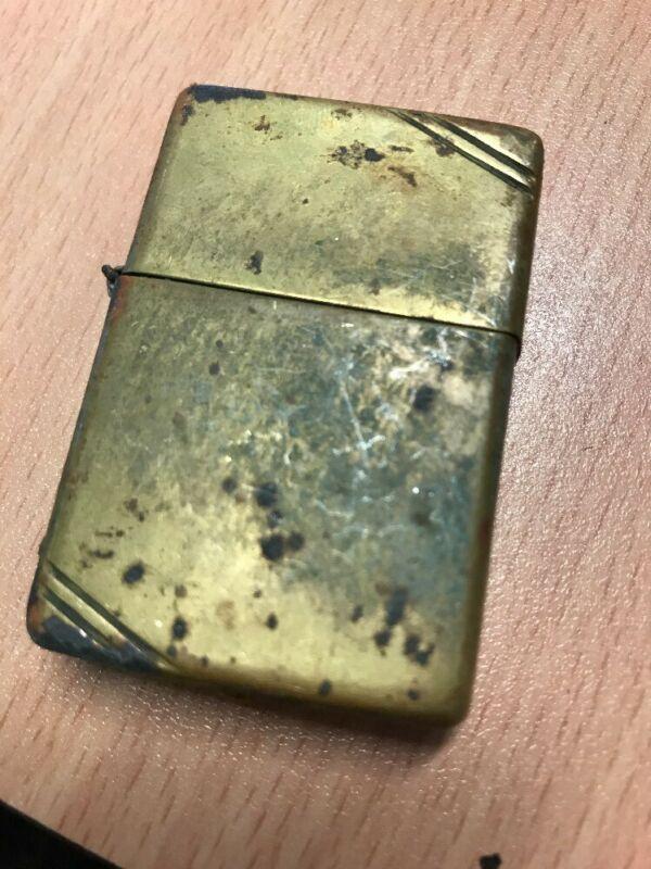 Vintage Zippo Brass Lighter Zippo Lighter Zippo Lighter