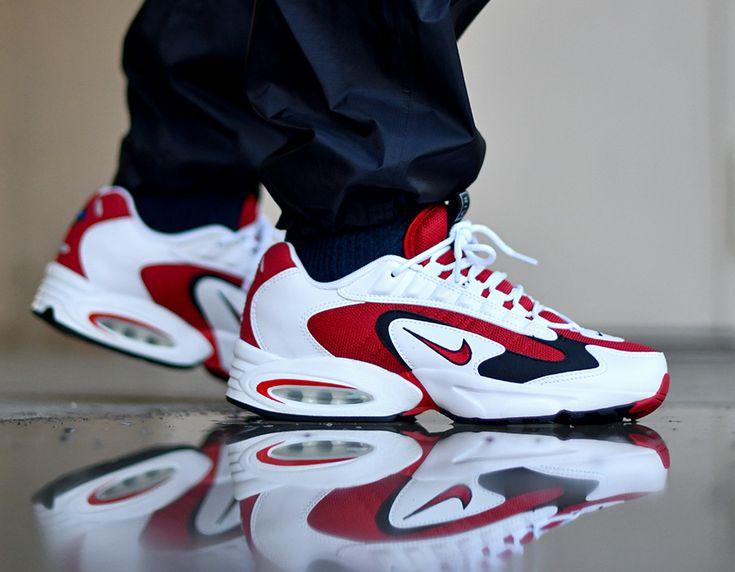 Nike Air Max Triax 96 - White/Gym Red | Chaussure nike air ...