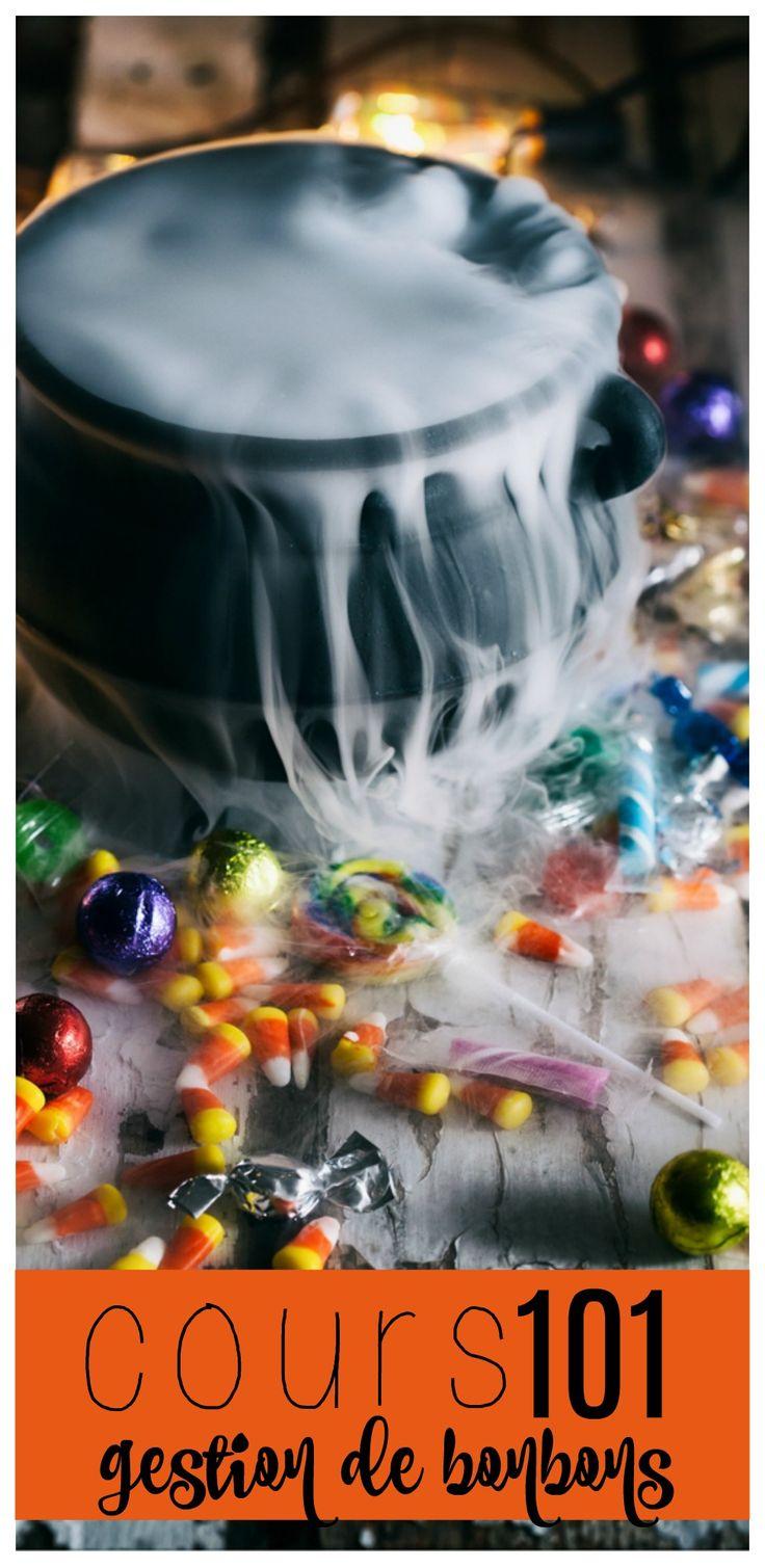 Mes enfants adorent ramasser des bonbons à l'Halloween. Mais pour ne pas qu'ils en mangent encore à Noël, je vous présente mon cours 101 sur la gestion des bonbons.
