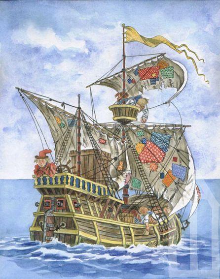 Illustration Эскиз иллюстрации к Поди туда по Успенскому-3