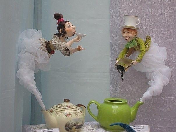 Доброе утро куколки прикольные, картинка