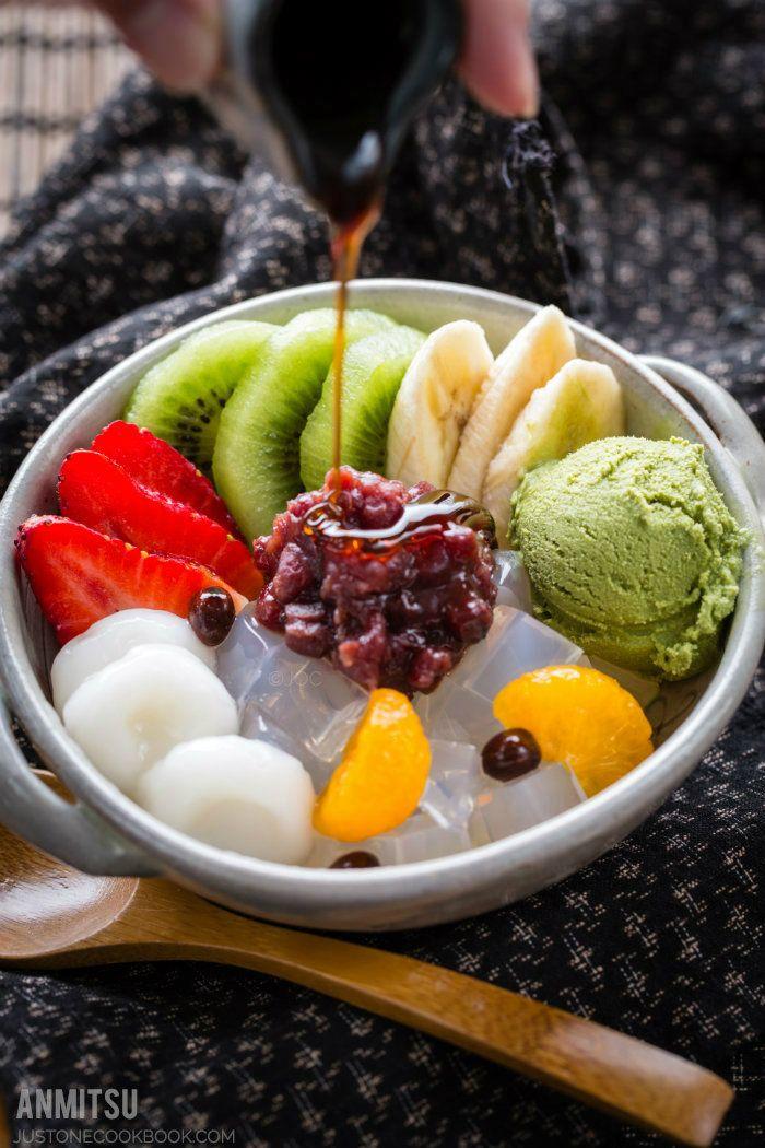 Anmitsu レシピ(画像あり) あんみつ, 日本料理, レシピ