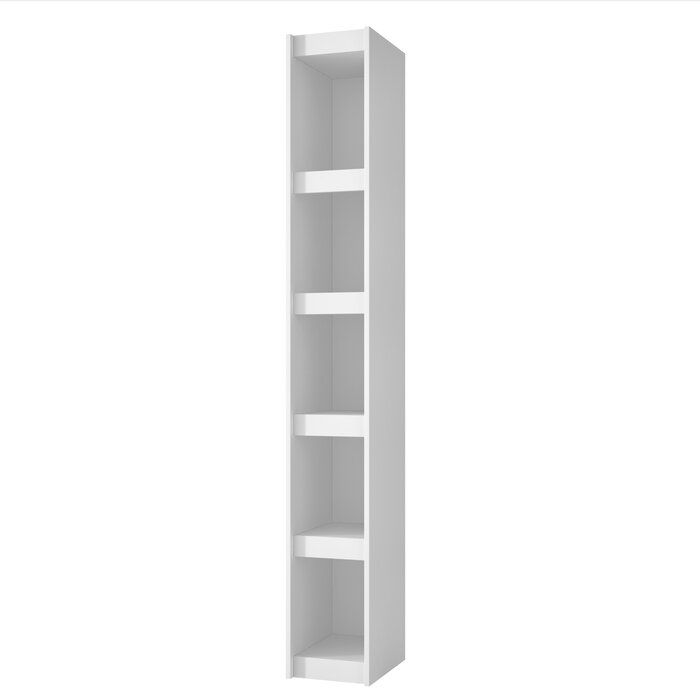Althea Standard Bookcase In 2020 Shelves Bookcase Manhattan Comfort