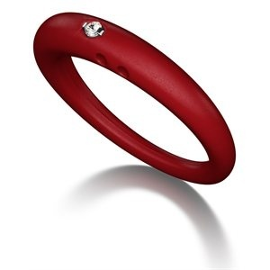 Cranberry meet-duepuntiDiamond Rings, Rings 55, Duepunti Rings, Diamonds Rings, Meeting Duepunti, Jewelry, 02Ct Diamonds, Red Rings, Silicone Rings