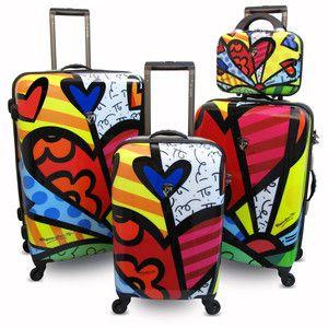 funky luggage
