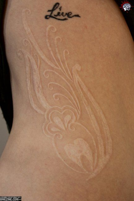 I'm scared of getting scarification, but god this is beautiful.