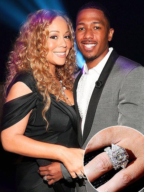 Mariah carey wedding ring pops