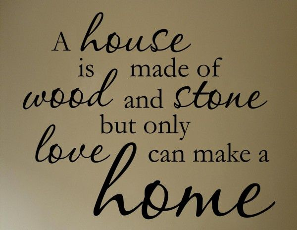 The Difference Between A House And A Home 3quotes3 Home