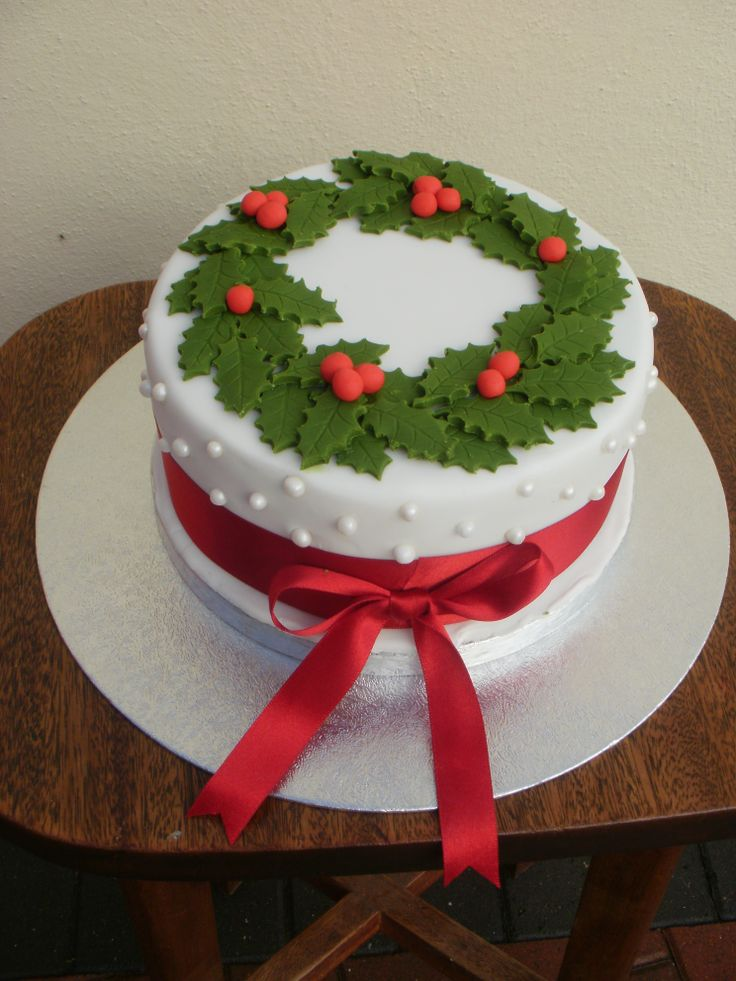 Cacen Nadolig 2013 Christmas Cake
