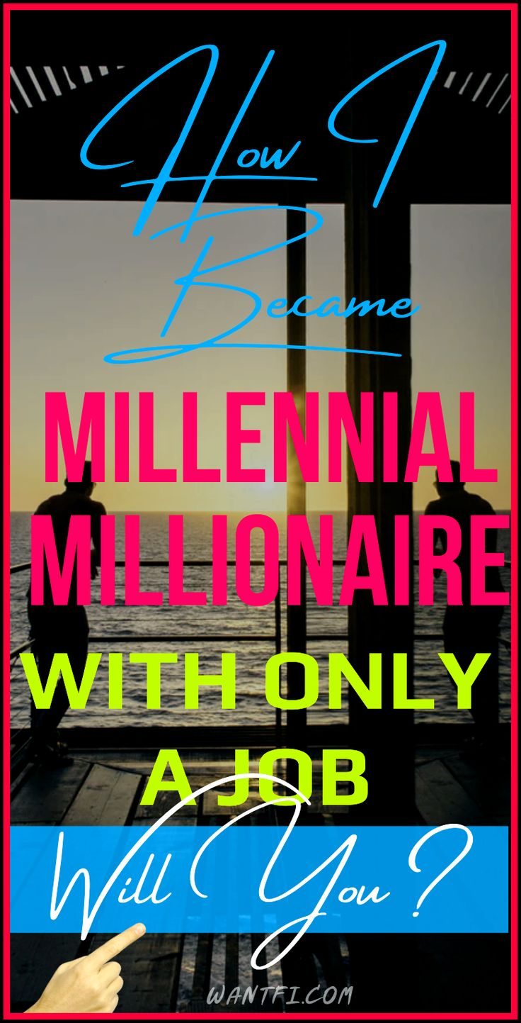How to a millionaire in 10 years with only a job