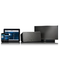 """Sonos S5 Wireless Speakers. #Tech #holiday #gifts for men.  """"Untether your tunes. Send music from your computer, iPod, or Internet-subscription services to as many as thirty-two zones in your home.""""  http://makeitbetter.net/family/tech-mama/4760-2012-gift-guide-tech-mama-gifts-for-men"""
