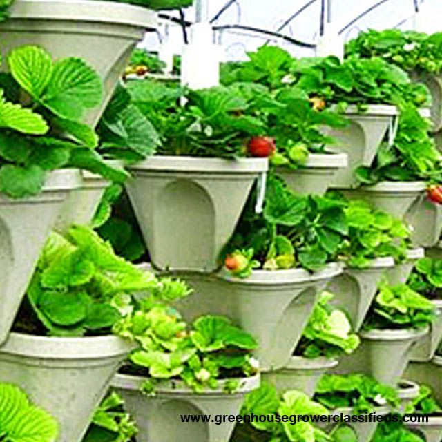 Commercial Growing Systems Stacking Planters And The Stacking Tubs Have  Been Designed With The Hydroponic Grower Also In Mind. Each Pot Has  Multiple Push Ou