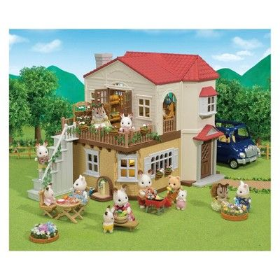 ec58145750bc Calico Critters Red Roof Country Home Gift Set  Red