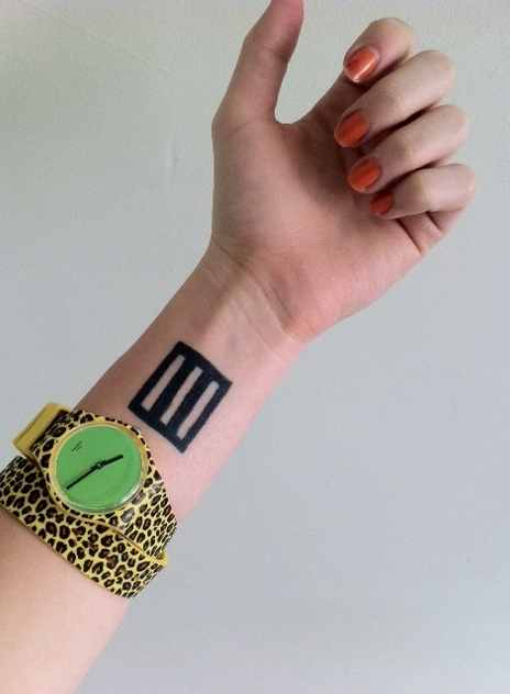 Paramore Tattoo (hayley's arm). Totally planning on getting this.