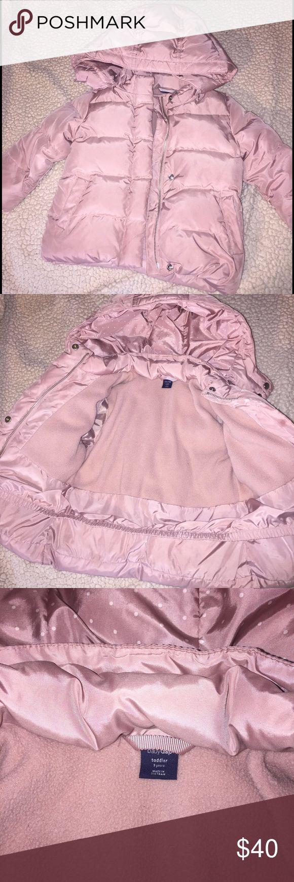 🌸Toddler Gap jacket , soft pink , like new! GAP Jackets & Coats Puffers