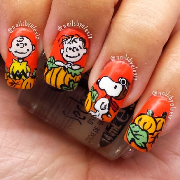 Best 25 snoopy nails ideas on pinterest christmas tree nails halloween by nailsbyalexiz nail nails nailart prinsesfo Gallery