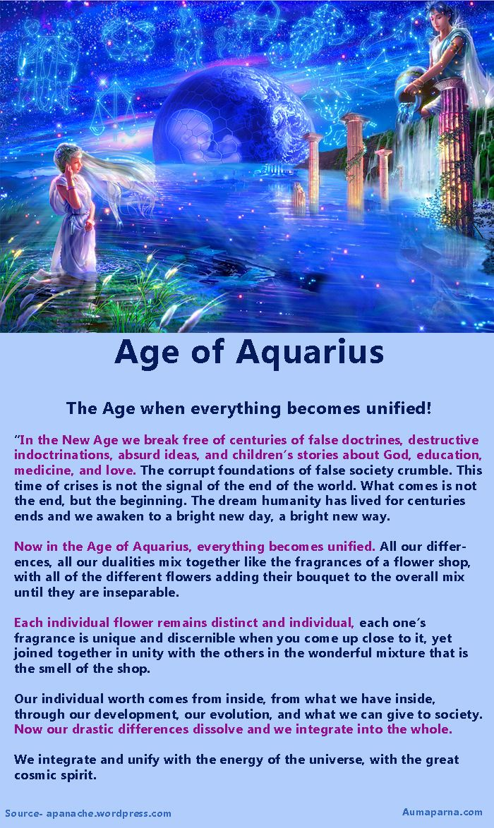 What lies ahead for Humanity...in the age of Aquarius?