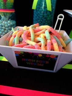Neon / Glow in the Dark Birthday Party Ideas   Photo 3 of 19   Catch My Party