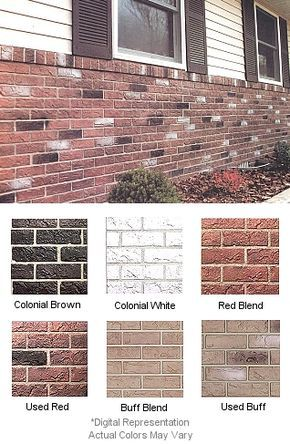 Simulated Hand Laid Brick Mobile Home Skirting Shipped Direct