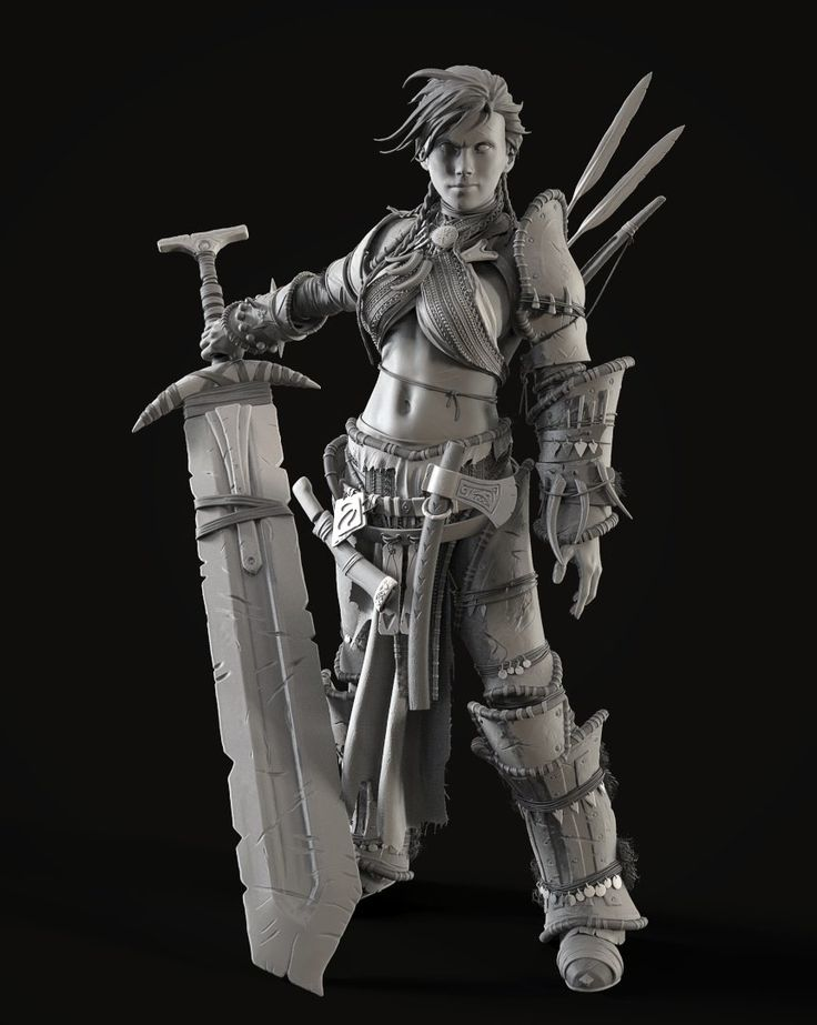 Character Design Zbrush Course : Best barbarian woman ideas on pinterest