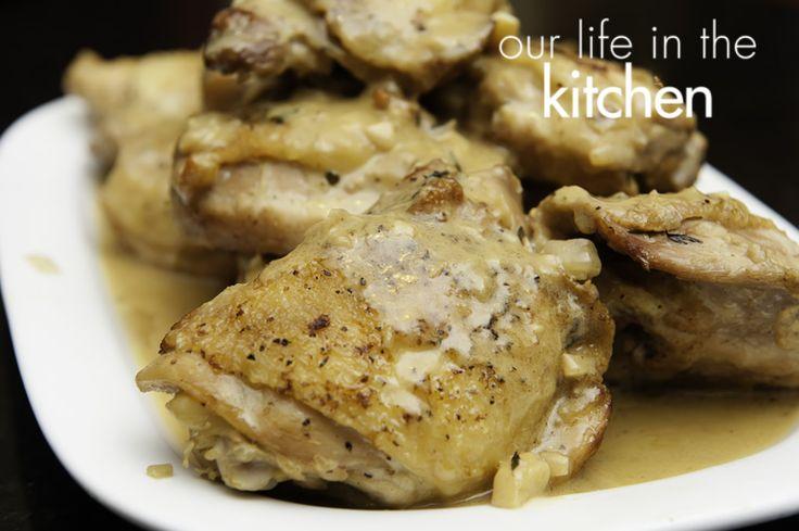 Honey Dijon Chicken ThighsDijon Chicken, Deliciouse Looks Recipe, Chicken Recipe, Chicken Dinner, Food, Chicken Thighs, Dinner Ideas, Dijon Honey, Favorite Recipe