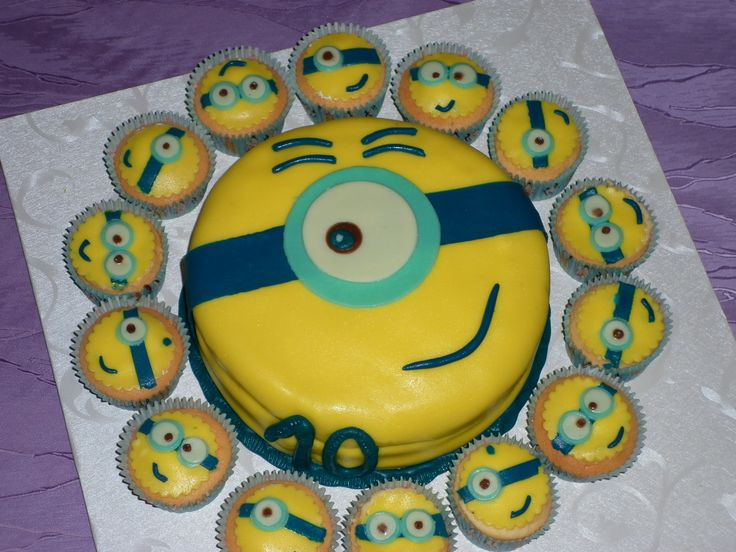 Mimoň + mafinky cake