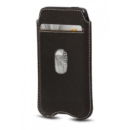 Hunter dark cover w. pocket for iPhone 5 by dbramante1928. Price: $30. More information: www.dbramante1928.com.