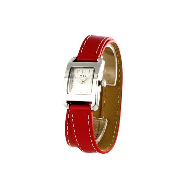Bracelet Cuir, Bracelets En Cuir, Cuir Rouge, Montres, Femme, Html