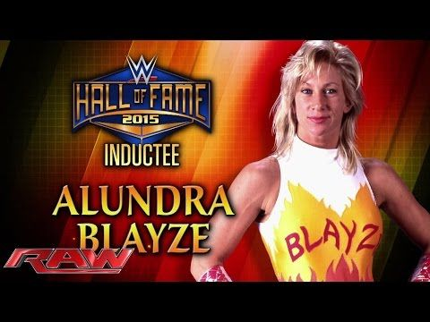 Congratulations to the 2015 WWE Hall of Fame Class! This includes all of your favorite; Alundra Blayze, Arnold Schwarzenegger, 'Macho Man' Randy Savage, The Bushwhackers, and Rikishi!
