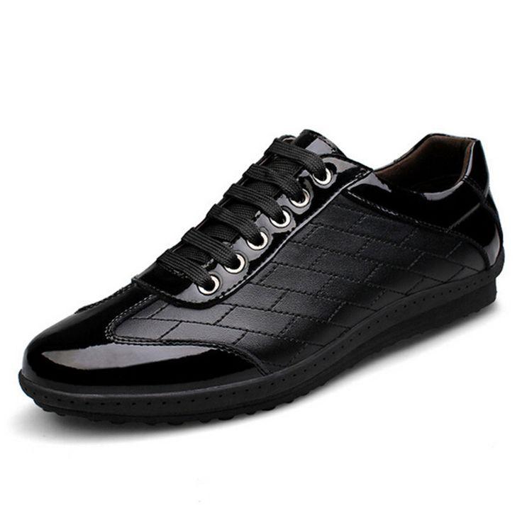 Британский деловой человек кожа мода джокер свободного покроя обувь бренд обуви остроносых мужская обувь обувь оксфорд лифт обуви