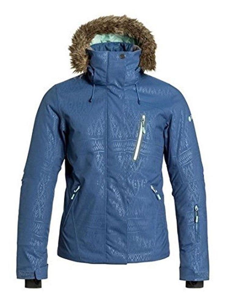 Roxy Jet Ski Premium Blue Womens Snowboard Ski Jacket NEW 15K Large