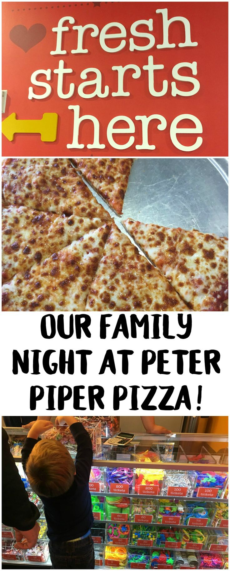 Peter Piper Pizza is back in Las Vegas- check out all the fun things we did! #ad