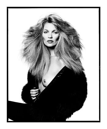 A portrait of Kate Moss by David Bailey, who will receive this year's lifetime achievement award. ©DAVID BAILEY