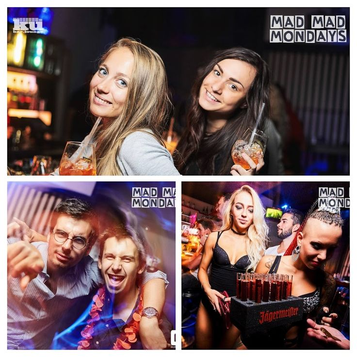 MAD MAD Mondays Finlandia edition is here! 17/10 at #kubarlounge  EVERY MONDAY   ⭐︎THE BEST MONDAY PARTY IN PRAGUE ⭐︎  The best music by DJ Black Jesus​ & Dj Laky Ljuk  2 HOURS OPEN BAR FOR GIRLS ⇾ 21 - 22 & 01 - 02 o'clock - unlimited wine & tapped beer  ⭐︎ FREE Entrance ⭐︎  ⭐︎ Welcome drink ⭐︎  ⭐︎ Sexy dancers ⭐︎  & JUST THE ︎BEST PRICES   ➾Beer 35,- ➾Wine 35,- ➾Finlandia shot 39,- ➾Finlandia Coconut shot 39,- ➾Vodka juice 49,- ➾Vodka Sexes 49,- ➾Vodka Sexes maxi 380,-