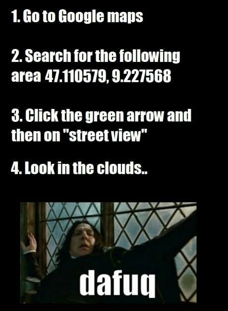 Hermione and Victor Krum are in the sky! Like seriously. Try it!: