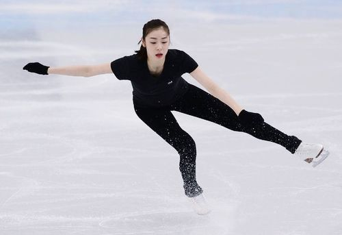 Yuna Kim, Sochi 2014 OWG : Official Practice (Feb 13, 2014)