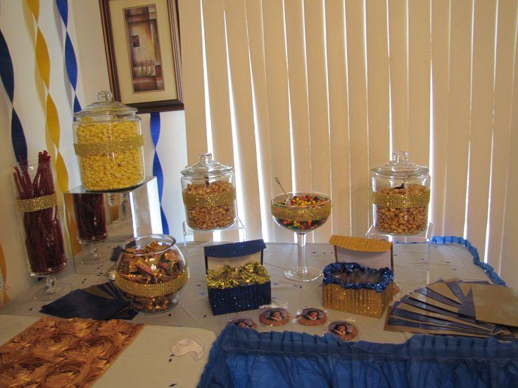 Blue And Gold Graduation Decorations – Air Media Design