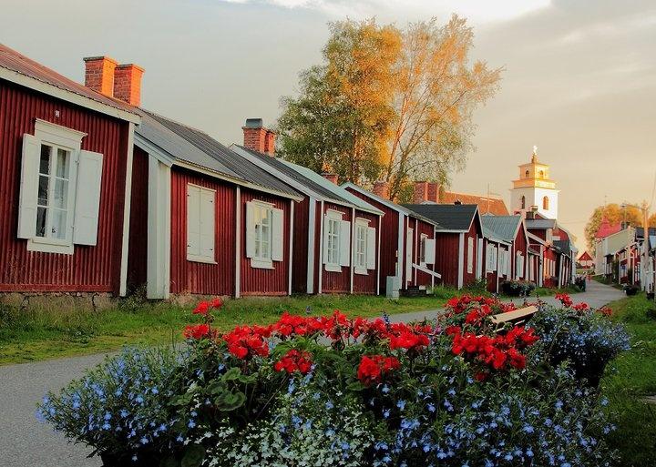 Kyrkbyn - the church village in Gammelstad