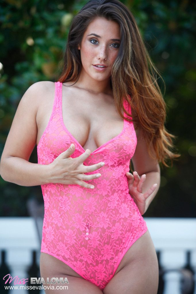 Eva Lovia Eva Swimwear Plus Size Model Size Zero