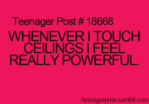 For me it's the top of doors.  I'm still pretty short.  :P