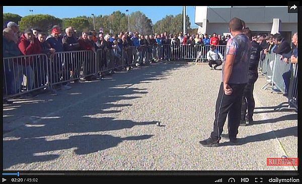 Vidéo Orange : PUCCINELLI vs PRUDHOMME - PACA - ARTICLES sur la pétanque