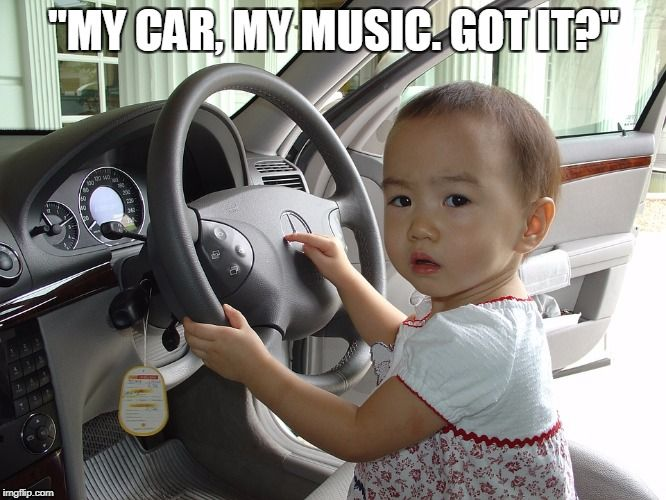 When someone in the passenger seat starts touching the radio... #cars #music #StatenIsland