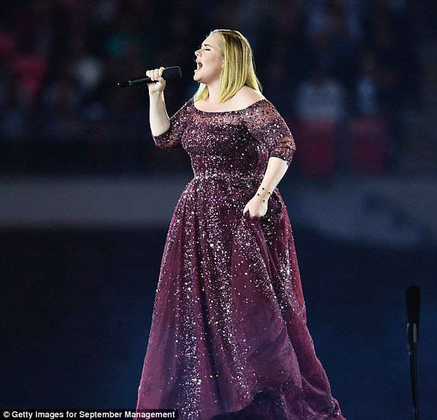 Loyal:Speaking on stage, the Grammy-winning artist revealed she would continue to make music as she vowed: 'I will always write music and I will always put it out. And I hope that you're always here'