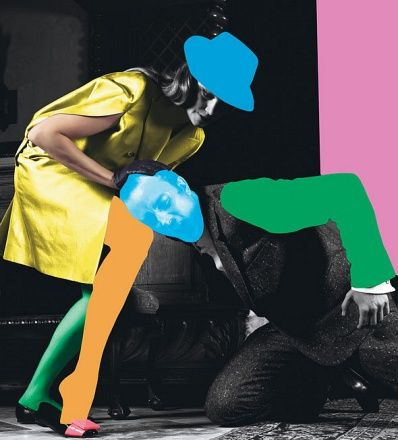 A collaboration between the influential artist John Baldessari and the renowned photographer Mario Sorrenti.